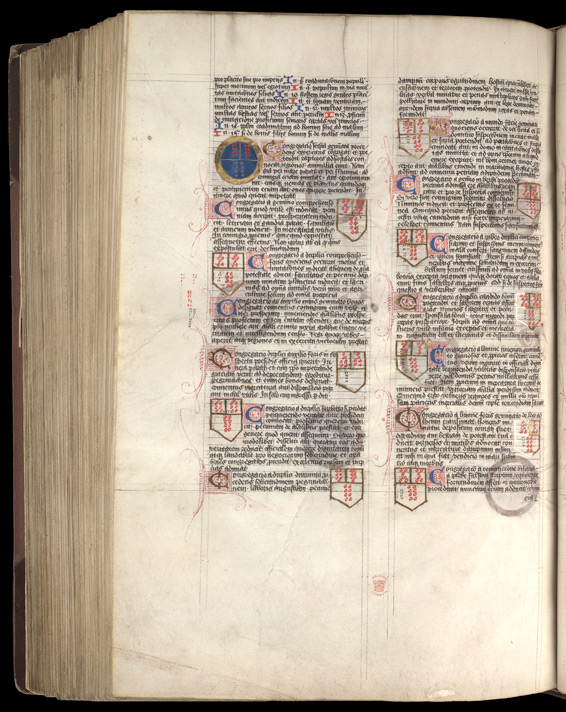 Geomancy Diagrams, in a Collection of Astronomical Treatises and Tables